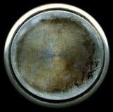 Textura aplicada con brocha sucia del metal Fotografía de archivo