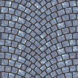 Textura arqueada 053 del pavimento del guijarro Imagenes de archivo