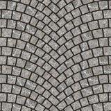 Textura arqueada 062 del pavimento del guijarro Imagenes de archivo