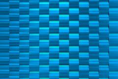 Textura arquitetónica azul e fresca Foto de Stock Royalty Free