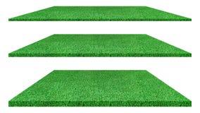 Textura artificial de la hierba verde aislada en el fondo blanco foto de archivo