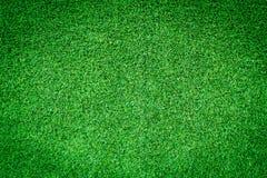 Textura artificial de la hierba verde para el diseño Foto de archivo libre de regalías