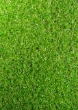 Textura artificial de la opinión superior del campo de hierba Fotografía de archivo libre de regalías