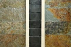 Textura artificial e fundo da parede de pedra Fotografia de Stock Royalty Free