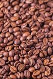 Textura asada del fondo de los granos de café Fotos de archivo libres de regalías