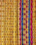 Textura ascendente del cierre de la estera del piso Imagenes de archivo