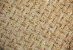 Textura ascendente próxima do biscoito fotografia de stock royalty free