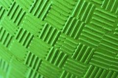 Textura aumentada bola verde macra del modelo Fotografía de archivo