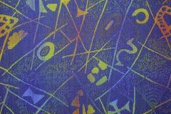 Textura azul Fotos de archivo libres de regalías