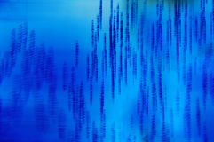Textura azul Imagens de Stock Royalty Free