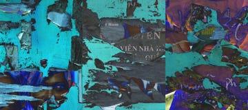 Textura azul abstracta Fotografía de archivo libre de regalías