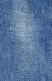 Textura azul abstracta del dril de algodón Fondo de la mezclilla azul Fotos de archivo