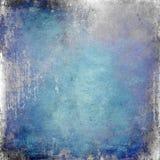 Textura azul abstracta del fondo Fotos de archivo