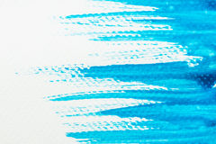 Textura azul abstrata da aquarela para o fundo ilustração do vetor