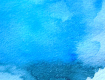 Textura azul abstrata do fundo do grunge Foto de Stock