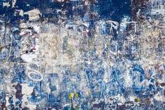 Textura azul compleja de la pared Fotos de archivo