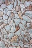 Textura azul da parede de pedra Imagens de Stock