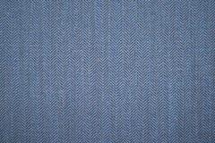 Textura azul da sarja de Nimes das calças de brim As calças de brim lavaram o fundo da camisa listrada do índigo Teste padrão sem imagens de stock royalty free