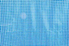 Textura azul das telhas de mosaico Imagem de Stock Royalty Free