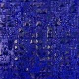 Textura azul de Abstact Imagens de Stock