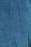 Textura azul de brim Foto de Stock Royalty Free