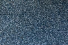 Textura azul de la alfombra Fotografía de archivo