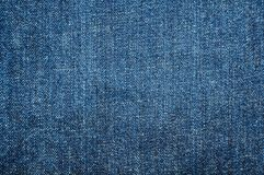 Textura azul de la mezclilla Fotos de archivo