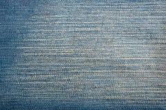 Textura azul de la mezclilla del dril de algodón y fondo inconsútil imagenes de archivo