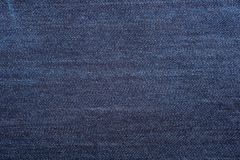 Textura azul de la mezclilla del dril de algodón y fondo inconsútil imágenes de archivo libres de regalías