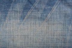 Textura azul de la mezclilla del dril de algodón y fondo inconsútil foto de archivo libre de regalías