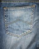 Textura azul de la mezclilla del dril de algod?n para el fondo imágenes de archivo libres de regalías