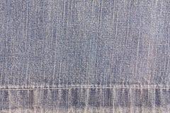 Textura azul de la mezclilla y de la entrepierna imagenes de archivo