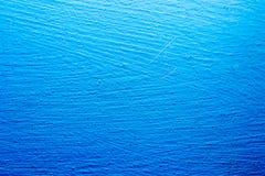 Textura azul de la pared Fotos de archivo