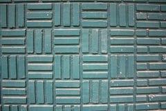 Textura azul de la pared de ladrillo Imagenes de archivo