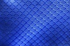 Textura azul de la tela Imagenes de archivo