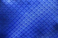 Textura azul de la tela Fotos de archivo libres de regalías