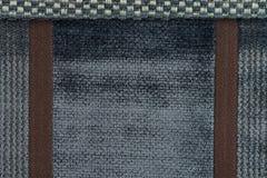 Textura azul de la tela Foto de archivo libre de regalías