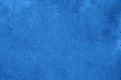 Textura azul de la tela Fotografía de archivo libre de regalías