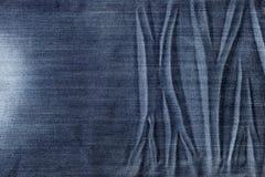 textura azul de la tela de la mezclilla foto de archivo