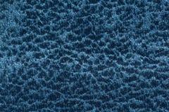 Textura azul de la tela del contraste extravagante Puede ser utilizado como fondo fotos de archivo libres de regalías