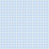 Textura azul de la tela escocesa para un álbum del bebé Imagenes de archivo