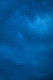 Textura azul de la tormenta imagen de archivo