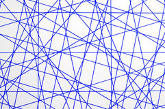 Textura azul de las líneas de cruce Imágenes de archivo libres de regalías