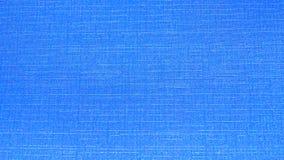 Textura azul de linho do fundo Fotografia de Stock