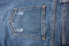 Textura azul de los pantalones vaqueros del dril de algodón Textura del fondo de los vaqueros de la mezclilla azul foto de archivo libre de regalías
