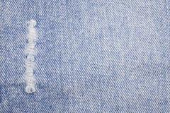 Textura azul de los pantalones vaqueros del dril de algodón stock de ilustración