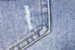 Textura azul de los pantalones vaqueros del dril de algodón libre illustration