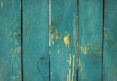 Textura azul de madeira Imagens de Stock