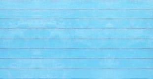 Textura azul de madera del vintage, fondo del tablero del verano fotografía de archivo libre de regalías