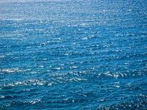 Textura azul del agua Fotografía de archivo libre de regalías